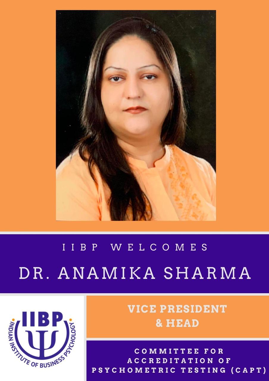 Announcing Dr. Anamika Sharma